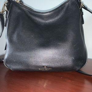 Black Kate Spade cross body bag